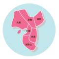 【2021年版】関西の住みやすい街ランキングTOP100の災害ハザードマップ